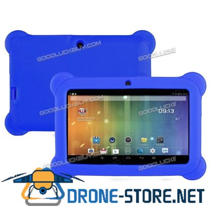 """7"""" Inch Kids Android 4.4 HD Tablet PC Quad Core Wifi for Children Education Deep Blue"""