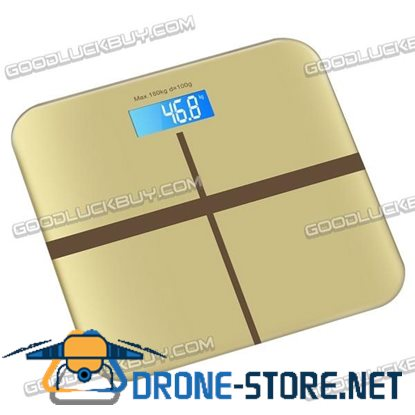 180kg/0.1kg Electronic Digital Body Weight Scale Weight Scale LCD Display