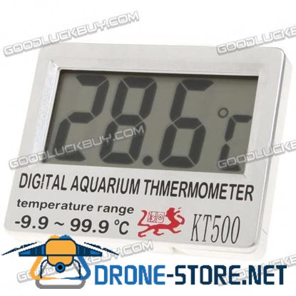 Digital Fish Tank Thermometer Sensor for Aquarium C/F KT500