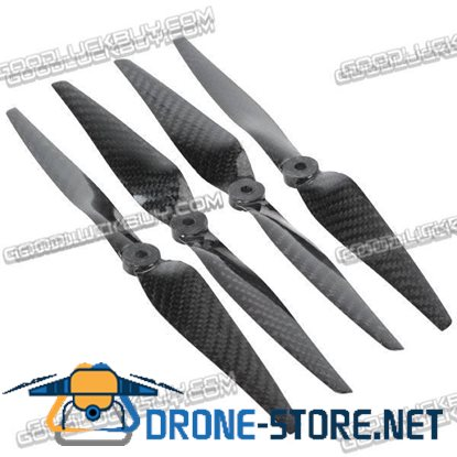 1150 11X5.0 Carbon Fiber Propeller Prop CW/CCW for QuadCoptor (2-Pair)