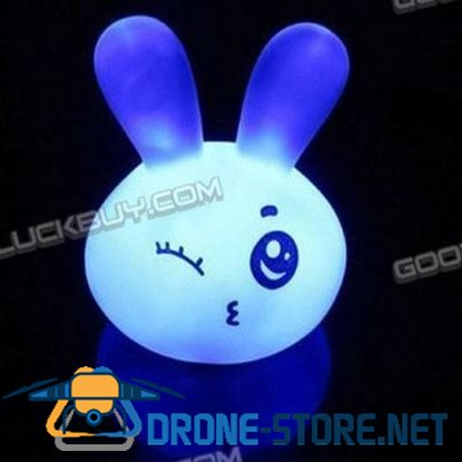 Colorful Expressions Naughty Rabbit Lamp Small Lovely Cute Rabbit Night Lights