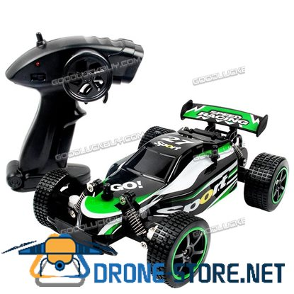 1/20 2WD High Speed Radio Remote Control RC RTR Racing Buggy Car Off Road Truck Green