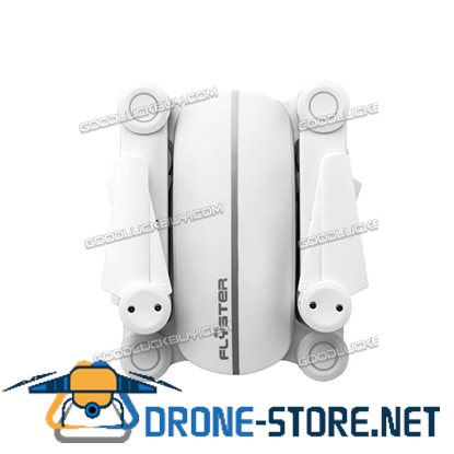 Flyster Q9 Skyhunter Z0 4-Axis Foldable RC Drone Set HD Aircraft Quadcopter White + Extra 2 Battery