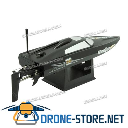 Volantex Vector28 2.4G RC Racing Boat RTR Radio Remote Control High Speed Black