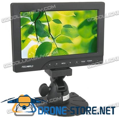 """7"""" LCD HD Touch Monitor with VGA/HDMI FW669AHT"""