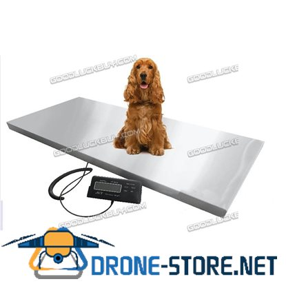150kg*50g Digital Pet Scale Digital Large Dog Cat Animal Weight Veterinary Diet Healthy