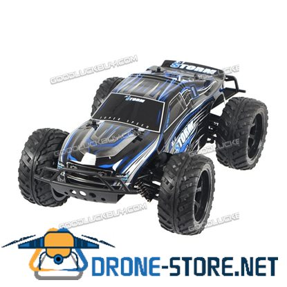 1:10 2.4G High Speed Electric Four-Wheel 4WD Remote Control RC Racing Car Truck Blue