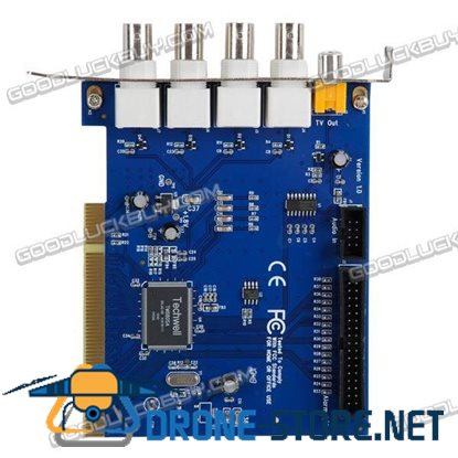 6805 Chip 2 Channel DVR PCI Card Video Capture for Security CCTV Camera