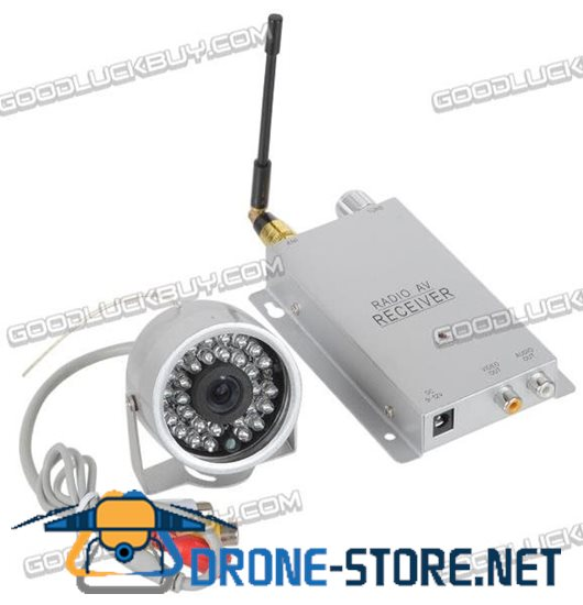 802 Infrared 30 LED Mini Digital Waterproof Camera Camcorder+1.2G Receiver Security System