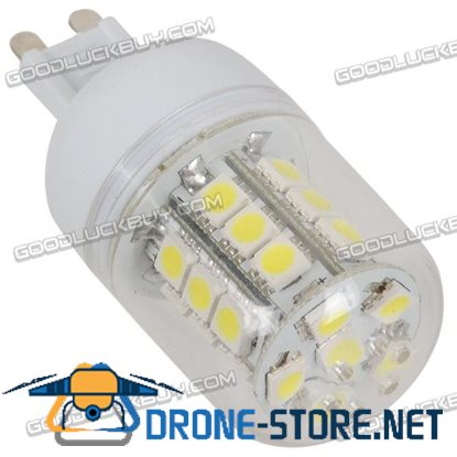 BG9 AC 220V 5050 SMD 27-LED LED Lamp Light - Warm White