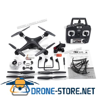 SJ R/C S20W RC drone with FPV 1080P Camera Selfie Altitude Hold Headless Mode Black