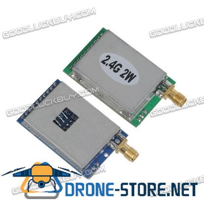 2.4G  2000mw 2W Wireless AV Transmitter Module+2.4G Video AV Receiver Set for FPV System