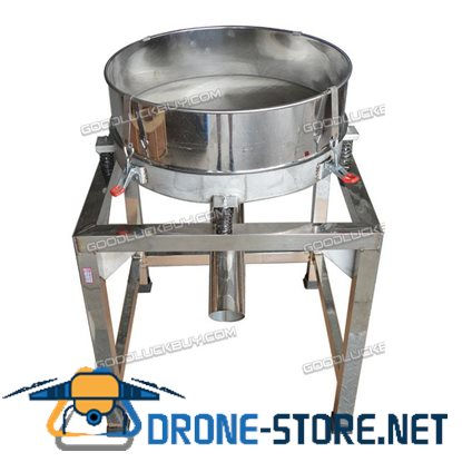 300W Stainless Steel Electric Screen Powder Vibrating Sieve Machine