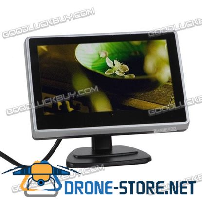400A Dash Windscreen Mounted 2-Video 3.5 inch LCD Color Monitor