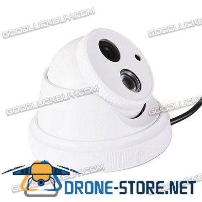 IPCC-D09 1.0MP 1/4 CMOS Full HD 720P Network Array IR Dome Security Camera