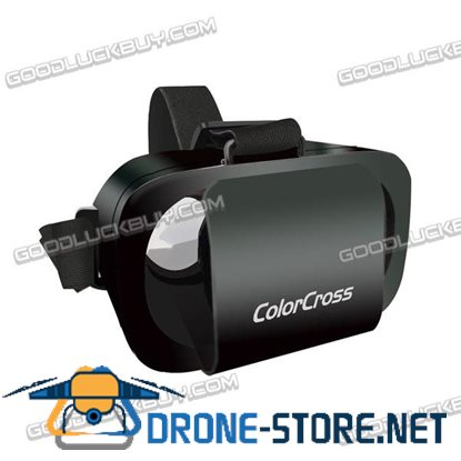 "ColorCross III Google Cardboard  VR Virtual Reality  3D Glasses for 4.7~6"" Smartphones"
