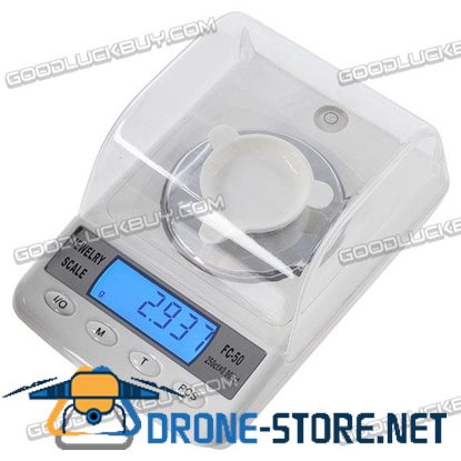 FC50 50g 0.001g High Precision Jewelry Diamond Scale Counting Function