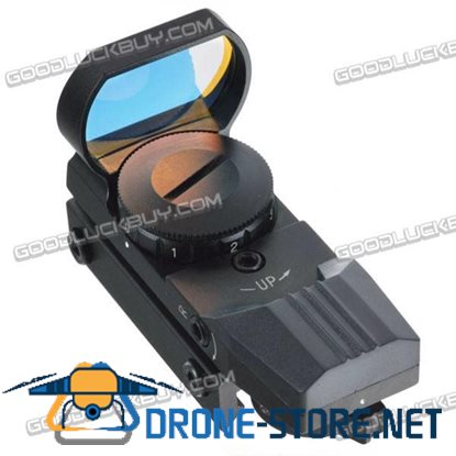 0-7 Wide Guage LT-HDR32 Metal RED Dot Scope Telescopic Sight