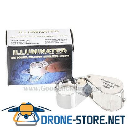 30x21mm Jewelers Loupe / Magnifier