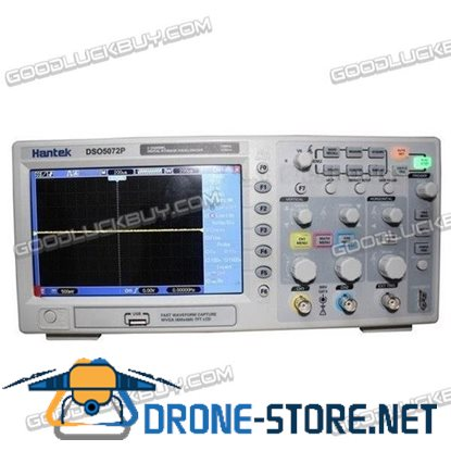 "Hantek DSO5102P 2CH 7"" TFT Digital Oscilloscope 100MHz 1Gs Compared TEK TDS2012"