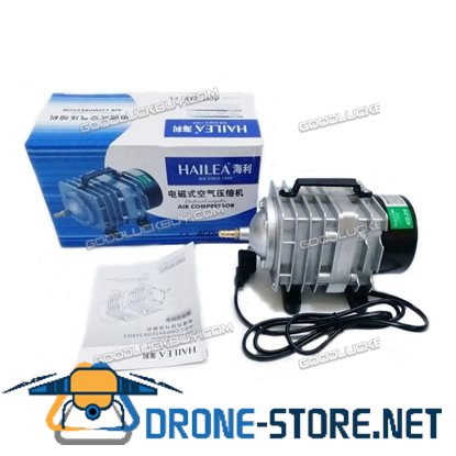 70L/min 35W Hailea ACO-318 Electromagnetic Air Compressor for Aquarium
