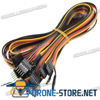 5 Pin Male to Female M-F Jumper Wire Cable 540mm 10 Packs