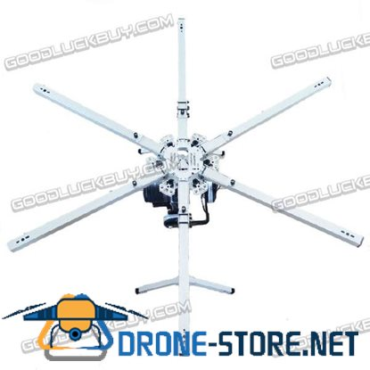 1100mm Aluminum Alloy Folding 25mm Arm Hexacopter Frame Kit w/Landing Skid for FPV