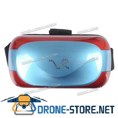 3D All-in-one 8GB Wifi Bluetooth Android 5.1 Virtual Reality VR Glasses Headset Red