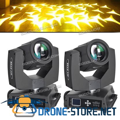 2Pcs 7R sharpy 220W Moving Head Beam Light 16+8 Prism DJ Stage Lighting