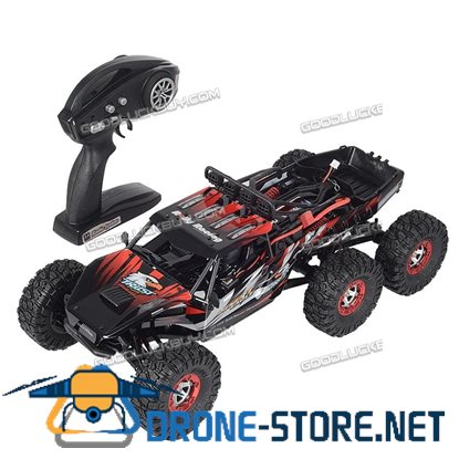 Feiyue FY06 1/12 Scale 2.4GHz 4WD Electric RC Car Off-road Desert Truck RTR 60km/h Red