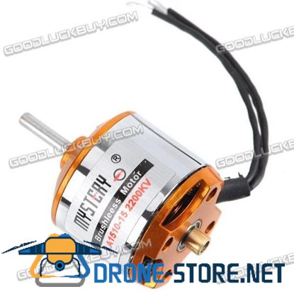 1510-15 2200kv Mini Brushless Outrunner Motor for Helicopter Multicopter
