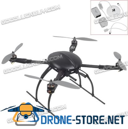 XAircraft Frame X650 Pro Power Unit w/ XAircraft SuperX Flight Control System Popular Version( for Quadcopters)