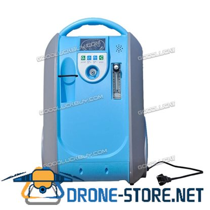 1-5l Lovego LCD 90% Portable Oxygen Concentrator With Battery For Home/Vehicle