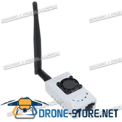 1500mW 5.8G 32CH FPV Data Transmission Transmitter Telemetry Device Black/White