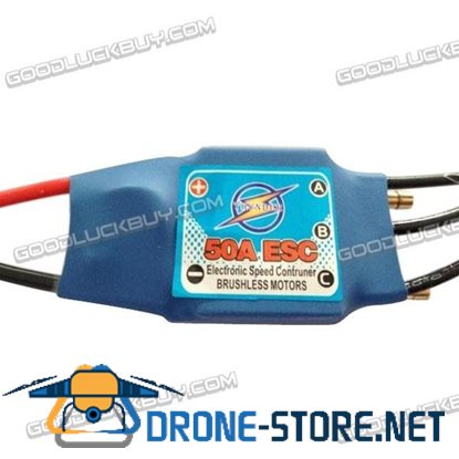 50A ESC Electronic Speed Controller with BEC for RC Boat Brushless Motors