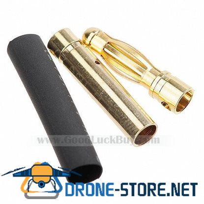 4.0mm Gold Bullet Connector X 20 Sets for R/C battery