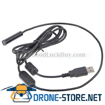 2m USB Snake Tube Inspection Home Endoscope Magnifier Waterproof Camera
