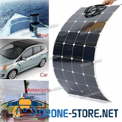 140W Monocrystalline Silicon Solar Panel Module for Solar System Home Factory 12V