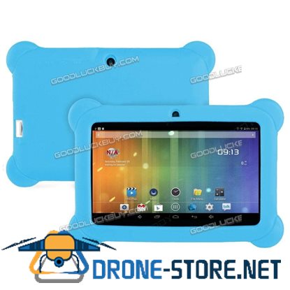 """7"""" Inch Kids Android 4.4 HD Tablet PC Quad Core Wifi for Children Education Light Blue"""