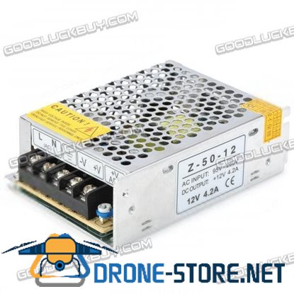 12V 4.2A 50W DC Regulated Switching Power Supply