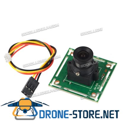 """1000TVL 1/3"""" CMOS FPV HD Camera with 2.8mm 120 Degree Wide Angle Lens for Racing Quadcopter"""