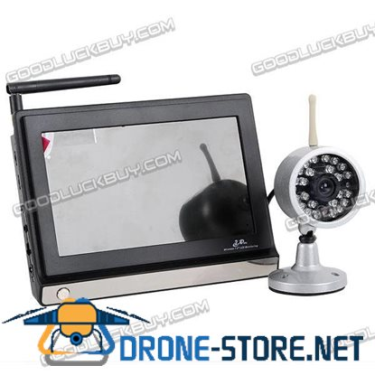 2.4GHz Wireless NTSC CMOS Camera & 7 inches Baby Monitor Security System