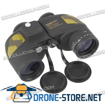 Visionking 7x50 Military Marine Waterproof Binoculars Telescope Compass Range Finder