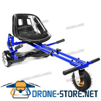 Hoverkart Suspension Go Kart Adjustable Hover GoKart for Swegway Electric Scooter Blue