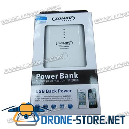 ZNT-1111 Portable Power Bank Standby Battery for ipod Mobilephone 6000mAh