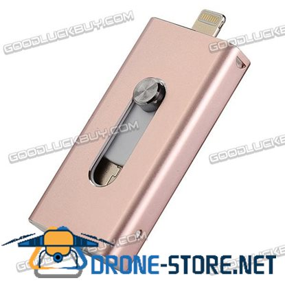 128GB OTG iFlash Driver USB U-Disk Flash Drive HD Memory Stick for iPhone 6/6 Plus/ 5/5S/ipad