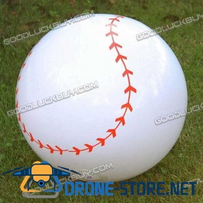 "12.5"" Inflatable Toy Beach Ball Inflate Pool Happy Baseball"