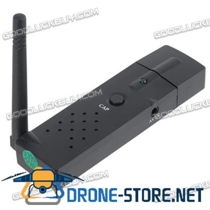 4 channel 2.4GWireless USB DVR Video Audio