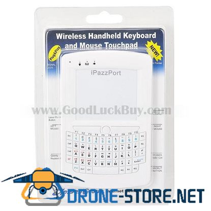 2.4GHz iPazzPort Wireless Mini Keyboard Mouse + Touchpad