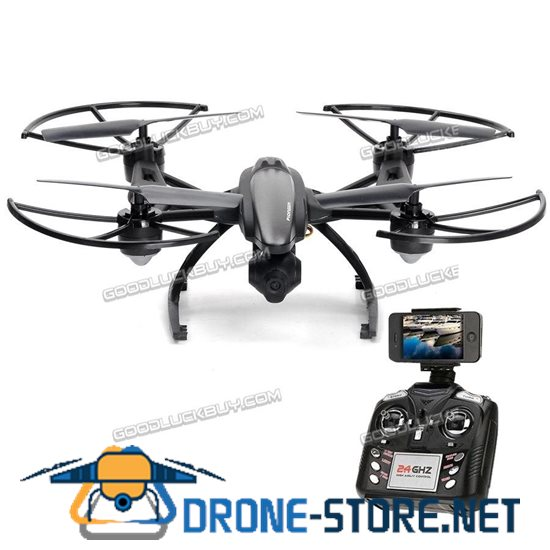 JXD509W FPV CAM 2.4Ghz 4CH RC 6-Axis Gyro Quadcopter Drone with 0.3MP HD Camera RTF